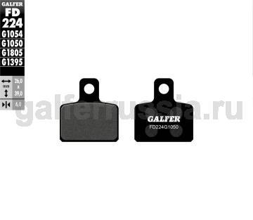 Городская тормозная колодка для скутеров FD 224 G1050 перед или зад