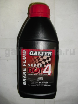 Тормозная жидкость GALFER SuperDOT 4
